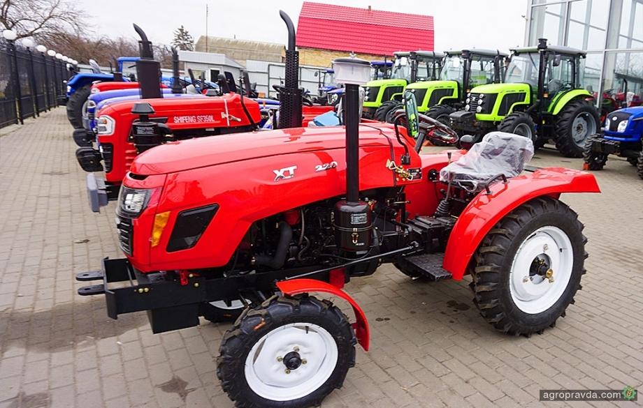 В Украине появились тракторы Xingtai 2019-го МГ