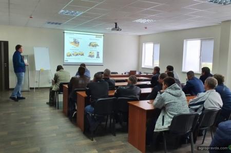 New Holland провел обучение украинских операторов комбайнов