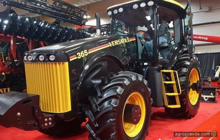 Выпущена эксклюзивная версия трактора Versatile Genesis