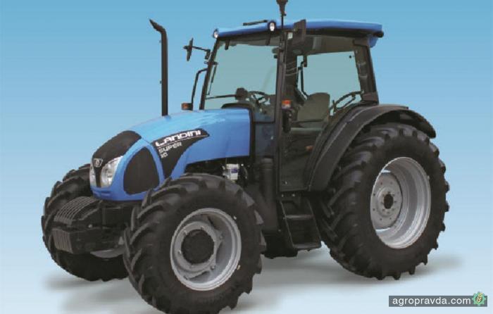В Украине впервые представили трактор Landini PowerFarm Super 110