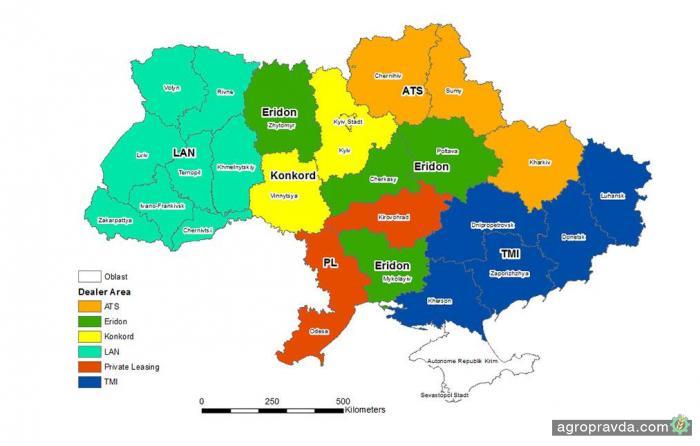 CLAAS переформатировал дилерскую сеть в Украине