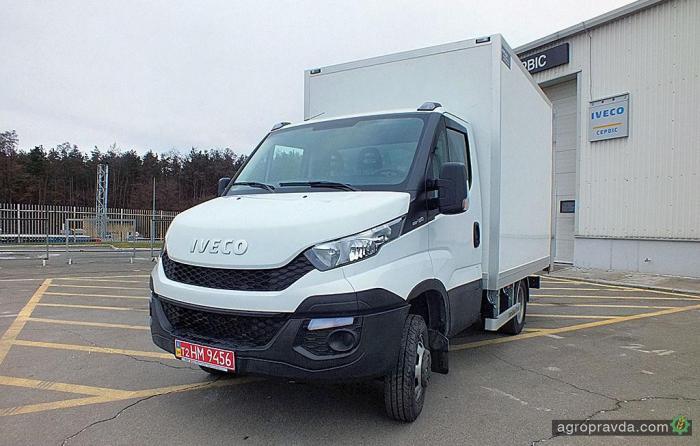 В Украине появился уникальный развозной фургон Iveco