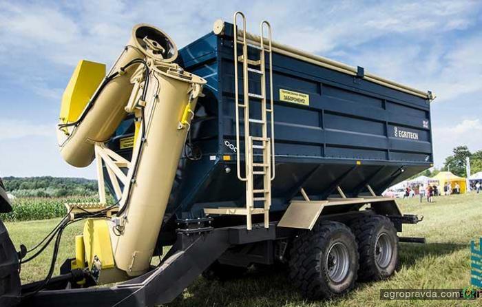 Крупный оператор сельхозтехники стал дилером отечественных бункеров-накопителей