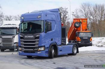 Scania представила новое поколение грузовиков