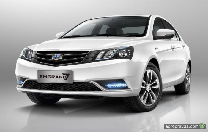 Geely Emgrand 7 распродают за 309 900 грн.