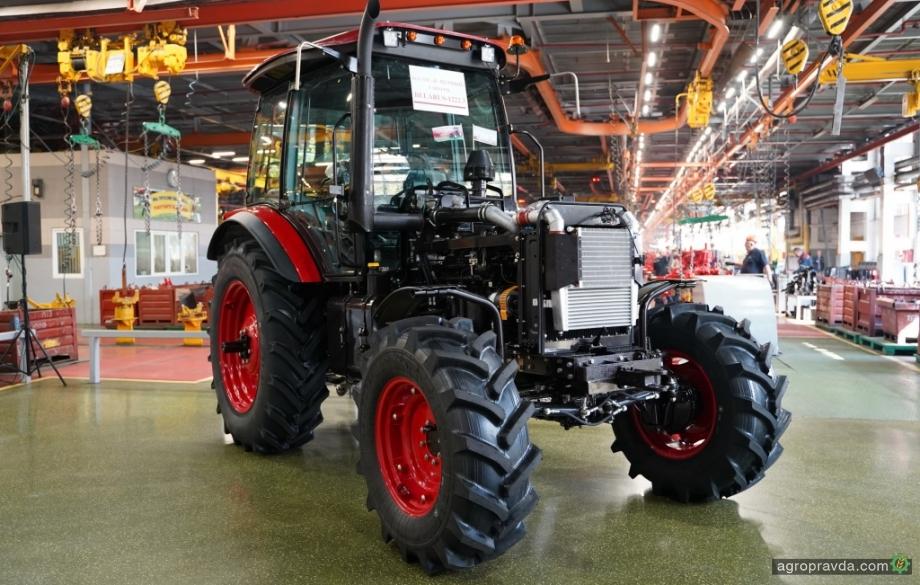 МТЗ начал производство новой модели трактора