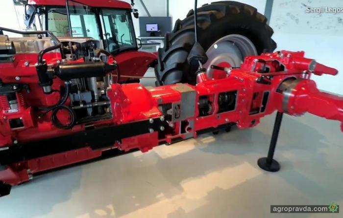Из чего состоит трактор Zetor. Видео