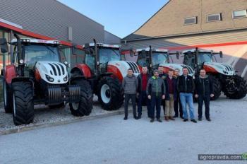 Украинцы посетили производство тракторов Case IH