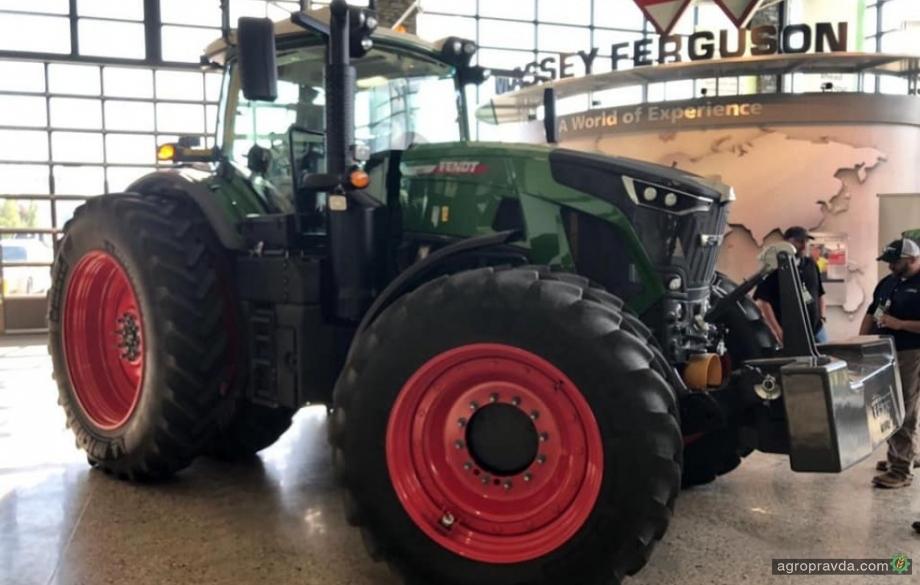 Готовится к выходу новое поколение тракторов Fendt 900 Vario