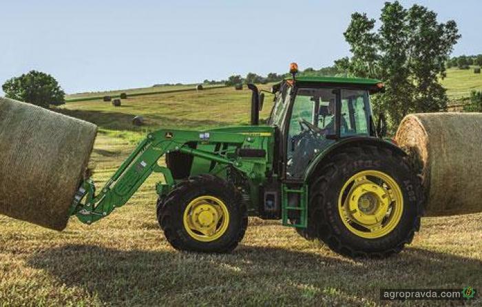John Deere представил новую линейку тракторов