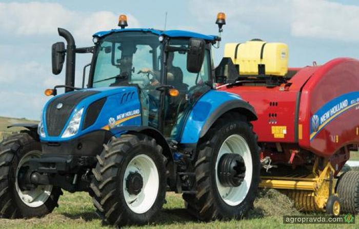 New Holland обновил серию тракторов T5