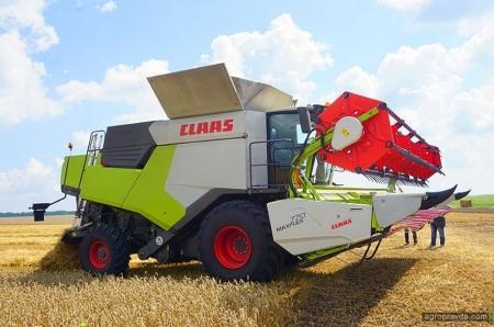 CLAAS запускає новий модельний ряд комбайнів