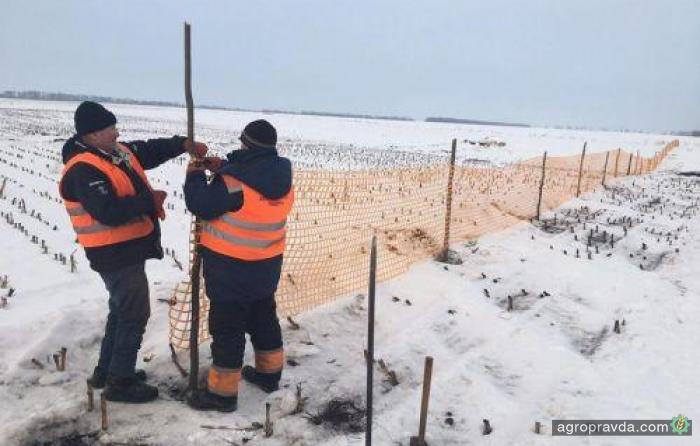 В Украине начали применять новые методы борьбы со снегом на дорогах