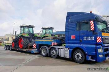 В Украине появились первые гусеничные тракторы Fendt
