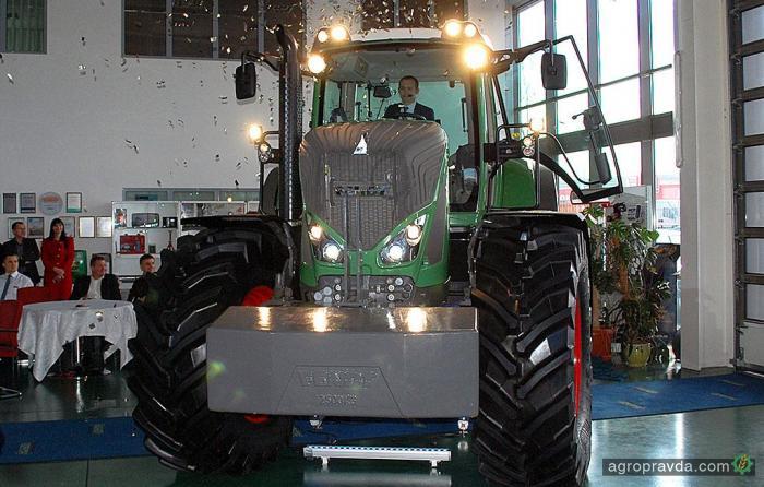 В АМАКО представили новый Fendt 936 Vario G3