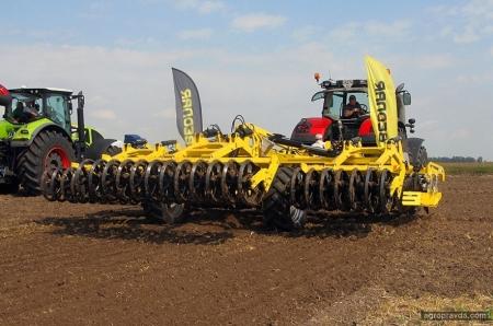 Какую технику для обработки почвы испытали под Киевом