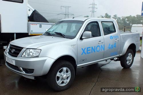 TATA Xenon – авто для фермеров на Столичном Автошоу