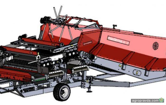 Miedema представила новый бункер MH 201