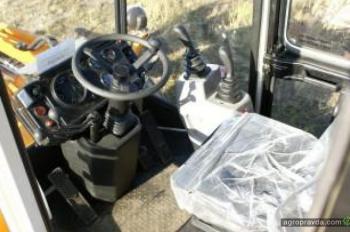 Тест-драйв шасси погрузчика Амкодор 332С4-01