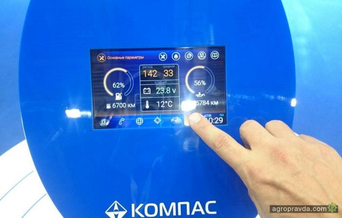 На грузовики КамАЗ поставят бортовую инфосистему с 4G и Wi-fi