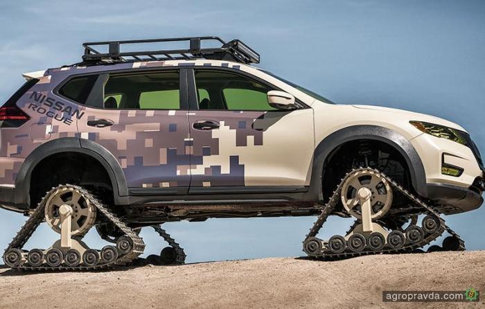 Nissan представил гусеничный X-Trail специально для фермеров