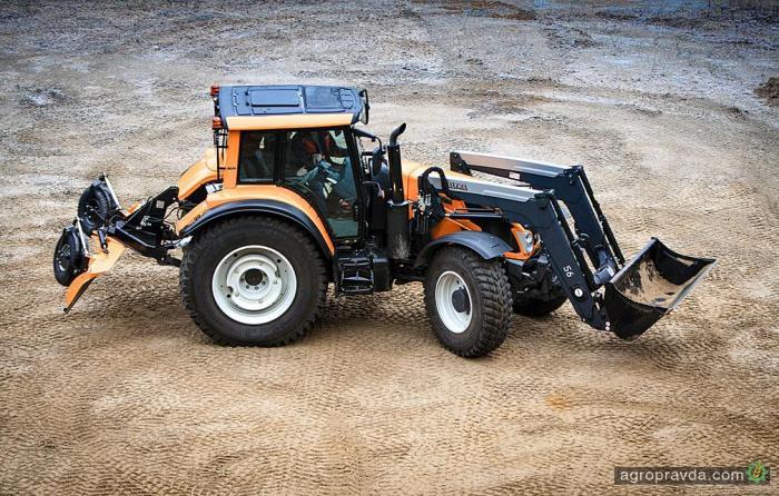 Valtra разработала новые шарнирные агротракторы