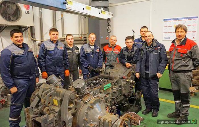 В АМАКО провели тренинги по сервису техники Massey Ferguson