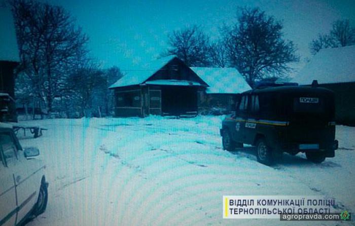 Пьяный тракторист угнал трактор, чтобы расчистить село от снега