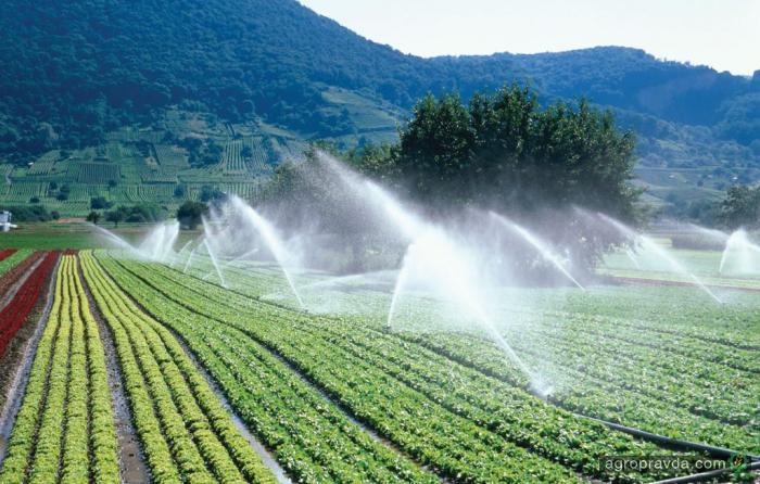 Орошения повысит урожайность на 8 млн тонн