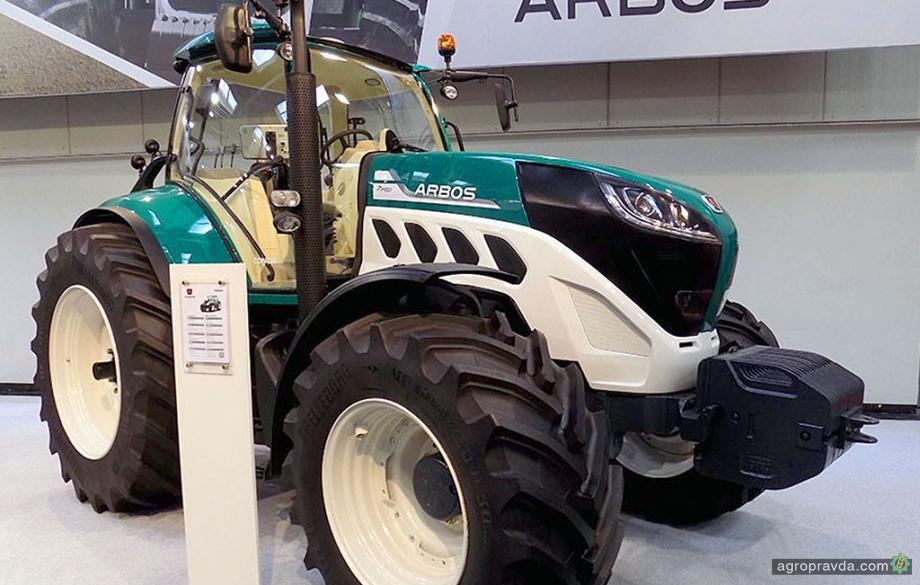Arbos продемонстрировал флагманский трактор