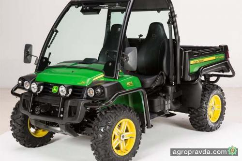 John Deere разработал новую линейку тяжелых квадроциклов для сельского хозяйства