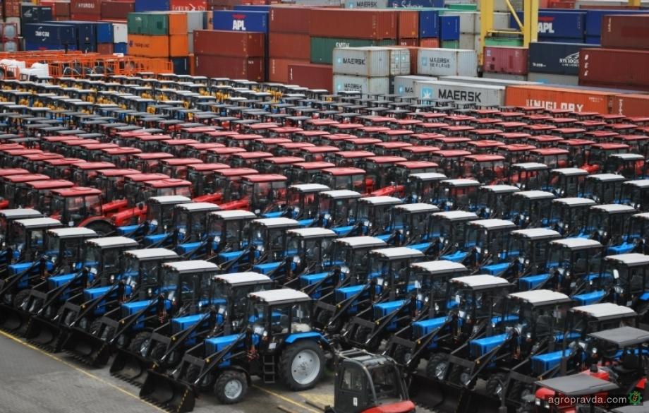 МТЗ поставил в Европу 500 тракторов