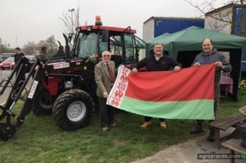 В Великобритании состоялась первая презентация тракторов «Беларус»