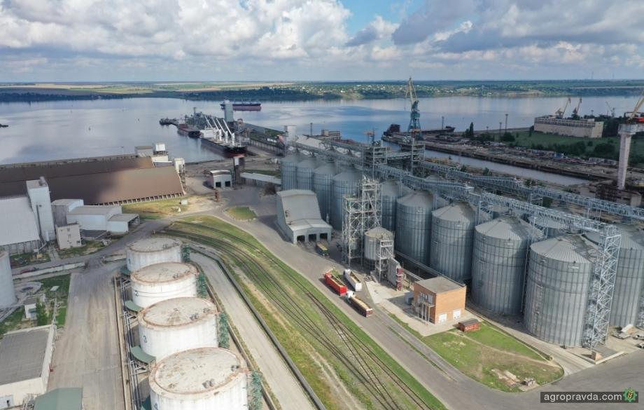 Порт «Ника-Тера» принял первую партию сои нового урожая