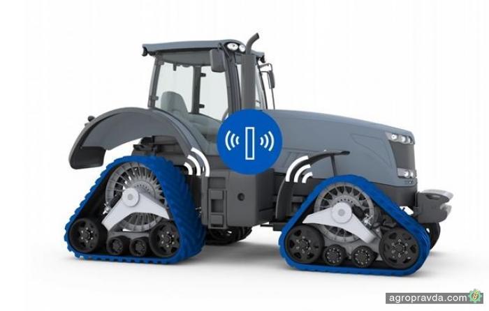 Разработаны «умные гусеницы» для тракторов