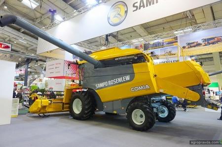 Комбайны Sampo Rosenlew выходят на новый уровень уборки урожая