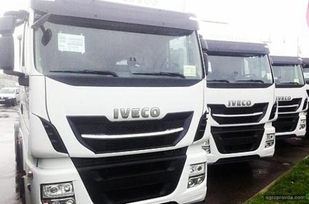В Украине реализован тягач IVECO Stralis HI-WAY EVO для плохих дорог