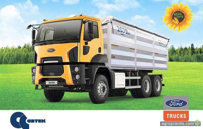 Ford Trucks представит в Украине новую модель зерновоза
