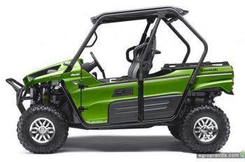 Kawasaki обновила свои мотовездеходы