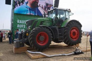 Fendt представил более 100 единиц техники на масштабном Дне поля в Германии