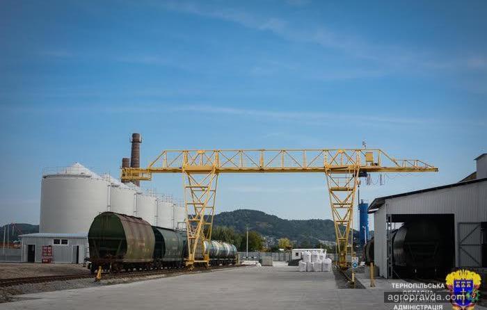В Украине открыт новый завод по производству минудобрений