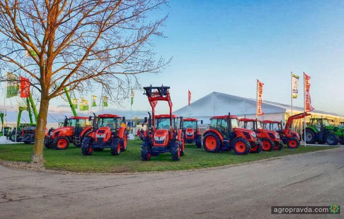 Самые яркие премьеры тракторов. Видео