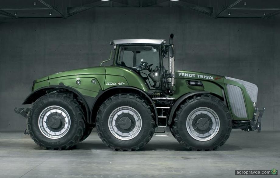 Самые невероятные трактора. Видео