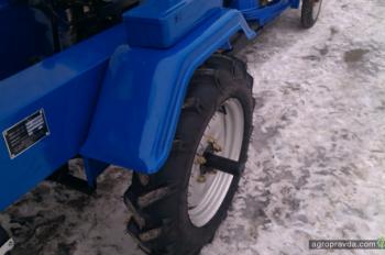 На украинском рынке появился обновленный минитрактор DW160LX