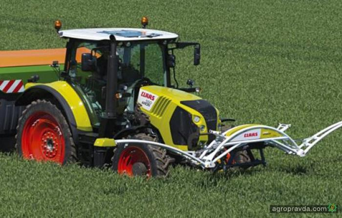 Система Claas Isaria Crop Sensor получил сертификацию AEF