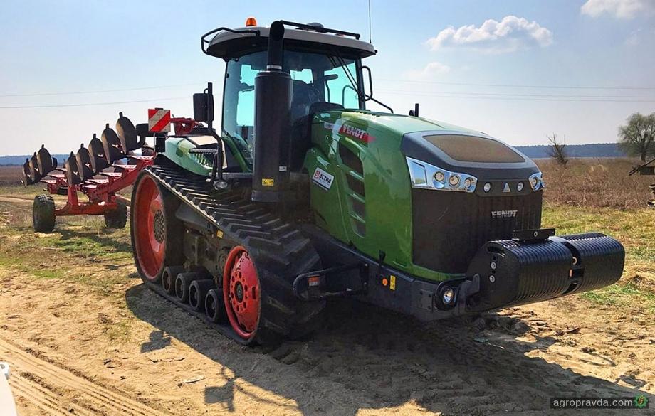 Украинские фермеры распробовали гусеничные тракторы Fendt