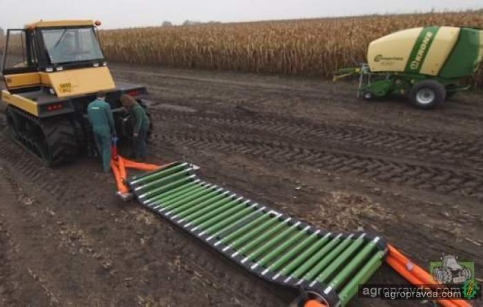 Тракторы против системы NovoGrip. Видео не для слабонервных
