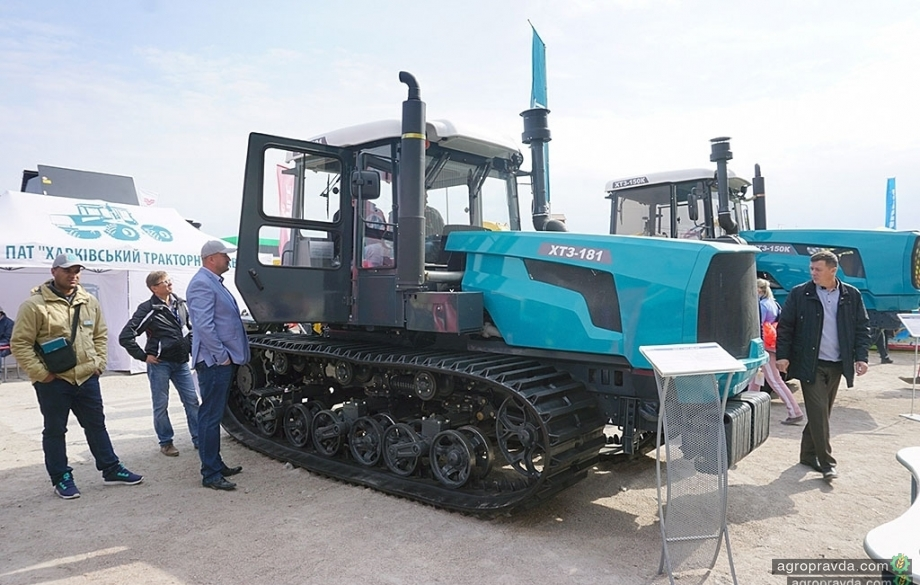 На ХТЗ рассказали об обновленном гусеничном тракторе