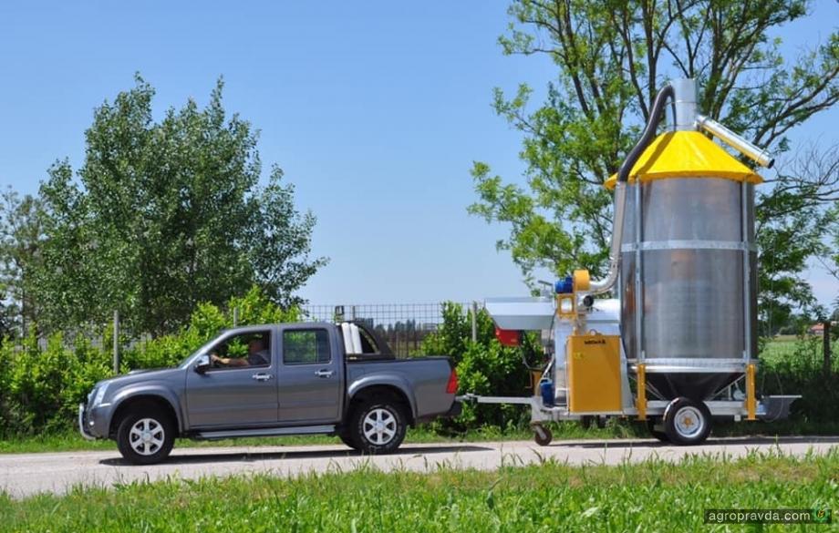 В Украине появились мобильные мини-зерносушилки Mecmar