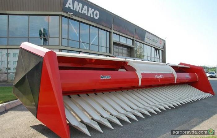 АМАКО предлагает жатки для уборки подсолнечника Bicchi Sunbi